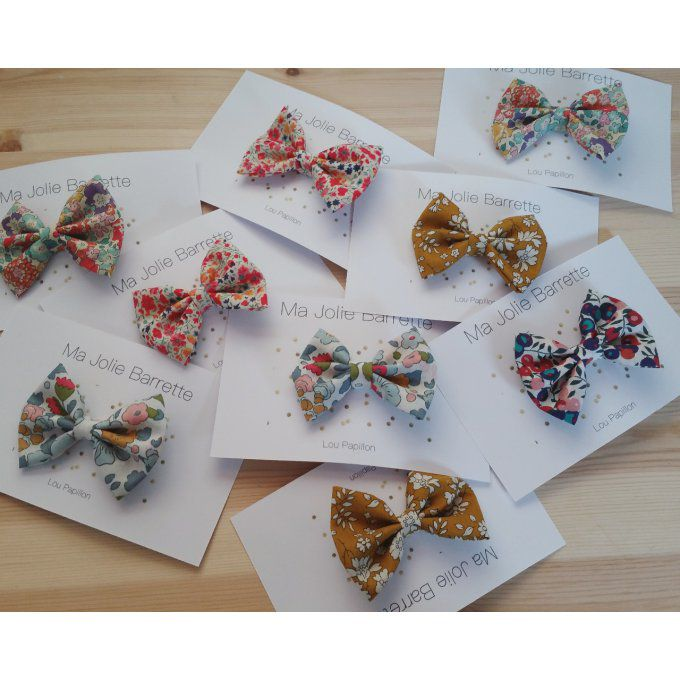 Lot de 5 Barrettes Liberty